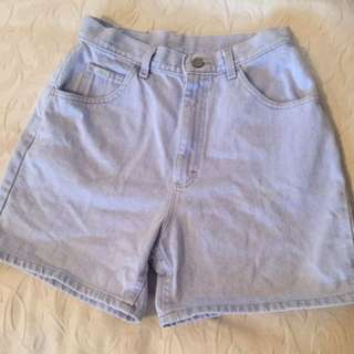 Lee High Waisted Shorts Size Medium