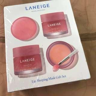 Laneige lip sleeping mask gift set