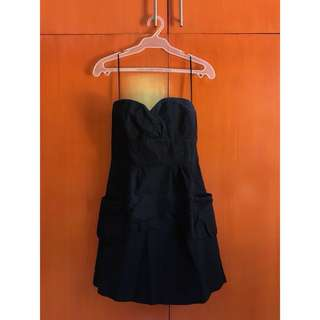 Mango Strapless Dress