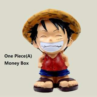 (BACK IN STOCK) One Piece*Monkey D. Luffy MoneyBox/Piggy Bank