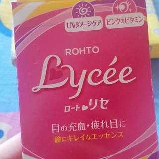 日本樂敦Lycee眼藥水8ml