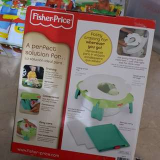 Fisher price potty seat (travel)