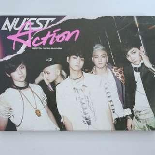 NU'EST Mini Album Vol. 1 - Action