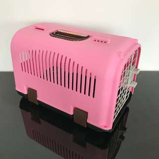 Pet carrier cage carry cat kitten dog puppy
