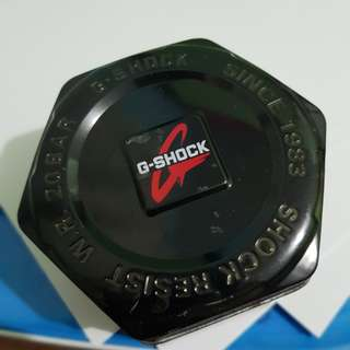 ORIGINAL G SHOCK BLACK