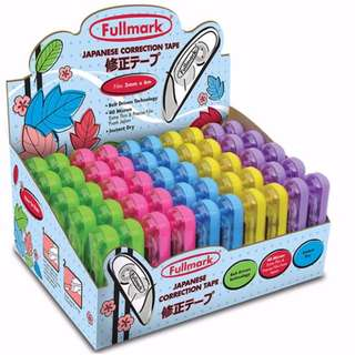 50 pcs - Fullmark Model B Correction Tape Gift Box 50pack - 5mm X 6m each
