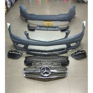 Mercedes Benz C180 Body Kit