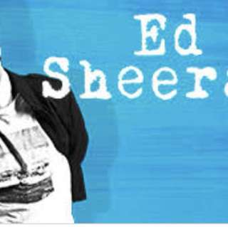 Two ED SHEERAN CONCERT TICKETS IN MELBOURNE