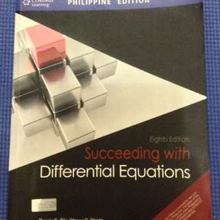 Succeeding with Differential Equation 8th Ed by Dennis Zill