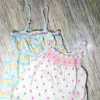 Circo Dress 3T and Carters Top 18M
