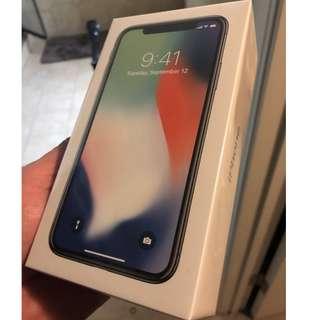 Unlocked Apple iPhone X 64GB