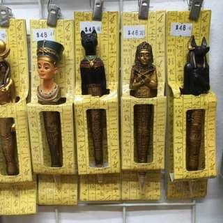 Vernonese埃及人物造型原子筆