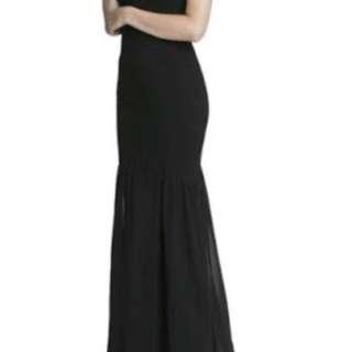 Black Gown Formal Dress Sheike