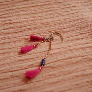 FOSSIL tassel dangle earring (single)