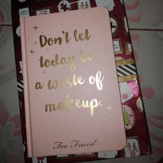 Too Faced Beauty Agenda Planner 2018