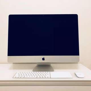 iMac 27', i7 3.4GHz, 32GB RAM, Dual SSD (256GB+128GB), GTX 680MX