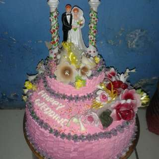 Cake brithday and weeding
