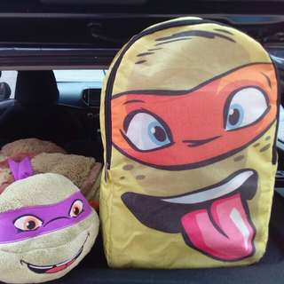 Kids Bag - Ninja Turtle