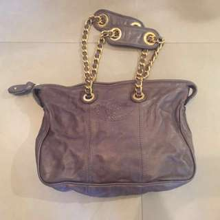 Juicy Couture 灰色真皮手袋(清櫃價)