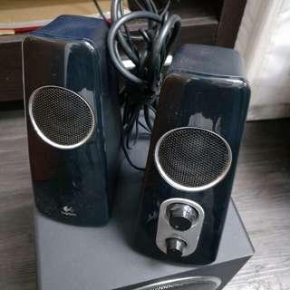 Logitech Z523 speaker systems