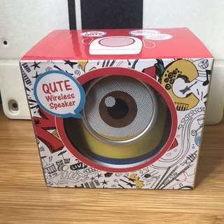 Minions wireless speaker 藍牙喇叭