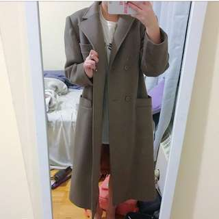 Long brown jacket