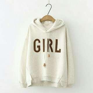 Sweater Wanita Girl Hoddie rw