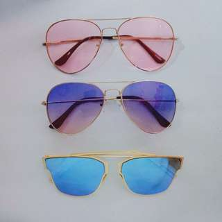 Sunglasses #1-3