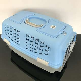 Pet carrier LARGE cage carry cat kitten dog puppy with mini sunroof