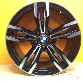 19 inch SPORT RIM BMW M6 DOUBLE SPOKE STAGGERED