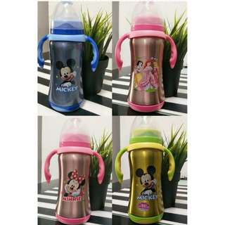 Walt Disney milk bottle