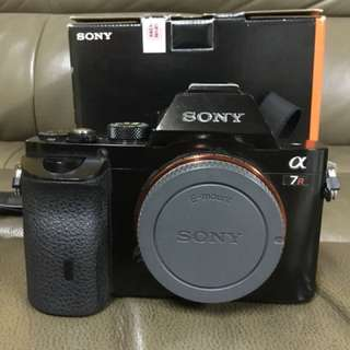 SONY A7R FULL FRAME 36.4MEGA PIXELS BODY WITH BOX