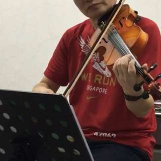 Violin Beginner 1 to 1 for community