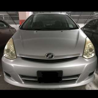 Toyota Wish 7-Seater For Rent, CHEAP!
