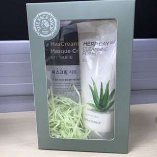 The Face shop Herbday Cleanser Set