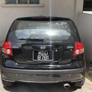 Car Hyundai Getz for sale