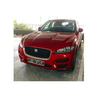 Jaguar F-Pace for Rent