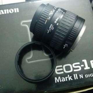 Lens sigma 28-80mm Eos Canon Mount