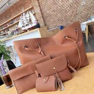Korean Bag Set 4 in 1