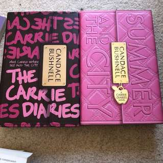 Carrie diaries book 1&2