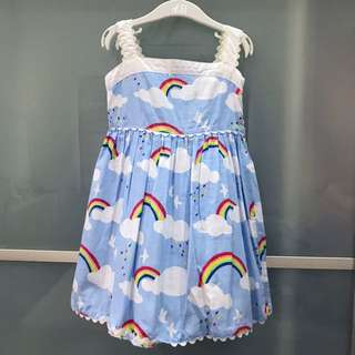 PL 3T rainbow dress