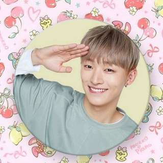 Wanna One Yoon Jisung Badge