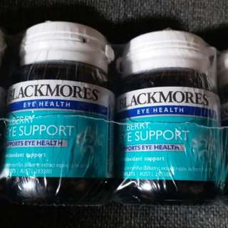 Blackmores bilberry eye support 30粒
