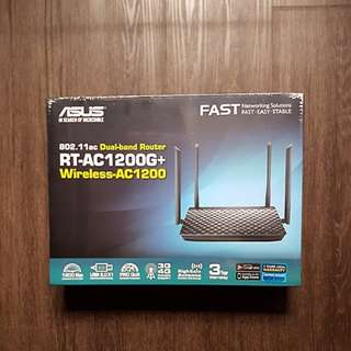 Asus RT-AC1200G+ (new)
