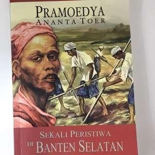 Sekali Peristiwa di Banten - Pramoedya Ananta Toer