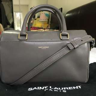 Authentic YSL 3 Hour Baby Duffle In Fog