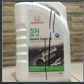 Honda Fully Synthetic Oil