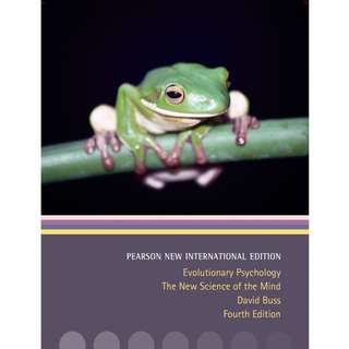 PL4214 Evolutionary Psychology - The New Science Of Mind 4th Edition