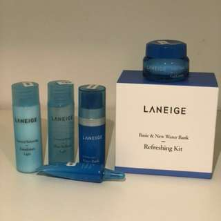 LaNeige - Basic & New Water Bank Refreshing Kit