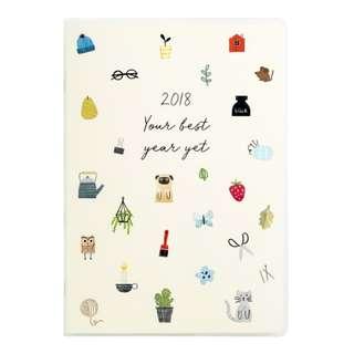 Kiki.K 2018 A5 Weekly Diary